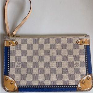 Louis Vuitton Neverfull Pochette Damier Azur
